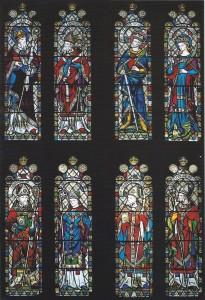 One of the Choir Clerestory Windows